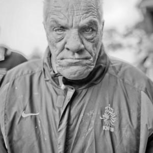 Piet (bewoner zorginstelling Abrona). Foto: Rob Groot